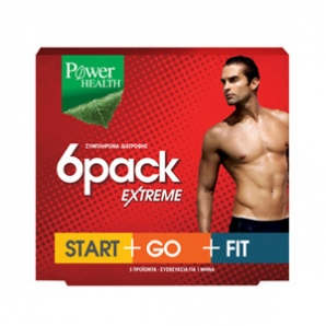 POWER HEALTH-SIZE ONE 6PACK EXTREME START/GO/FIT