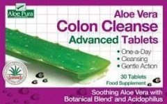 OPTIMA ALOE VERA COLON CLEANSE tabs 30s