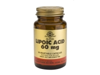 SOLGAR ALPHA LIPOIC ACID 60MG VEGICAPS 30S