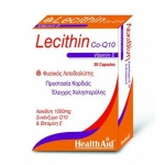 HEALTH AID LECITHIN 1000MG & CoQ10 & VITAMIN E 30 CAPS