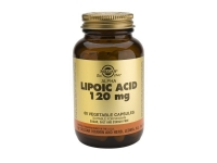 SOLGAR ALPHA LIPOIC ACID 120MG 120MG 60 CAPS