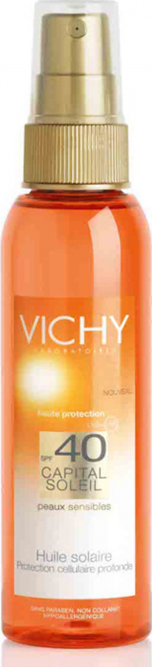 VICHY CAPITAL SOLEIL BODY OIL SPF40 125ML