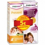 PARANIX SPRAY 100ML+PREVENT SHAMPOO -5€