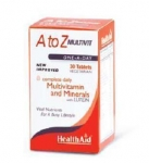 HEALTH AID A TO Z MULTIVIT LUTEIN 30TABS