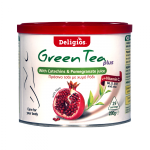 DELIGIOS GREEN TEA POMEGRANATE 230gr