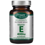 POWER HEALTH-CLASSICS PLATINUM VIT E 400IU 30S CAPS