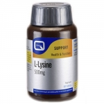 QUEST L-LYSINE 500MG 60CAPS