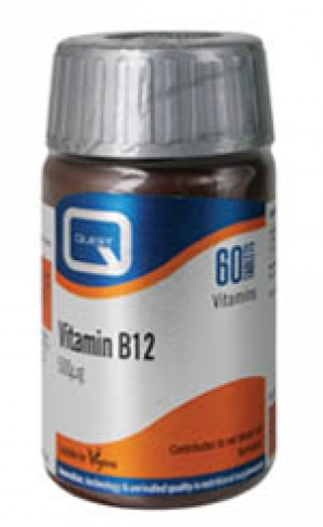 QUEST VITAMIN B12 500MG 60 tabs