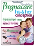 VITABIOTICS PREGNACARE  PLUS          HIS&HER
